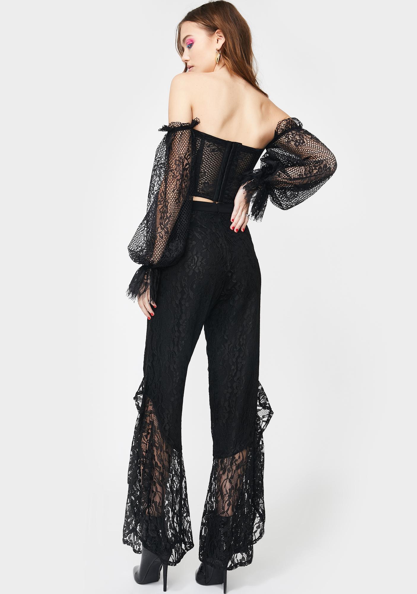 Kiki Riki Rogue Desire Lace Pants