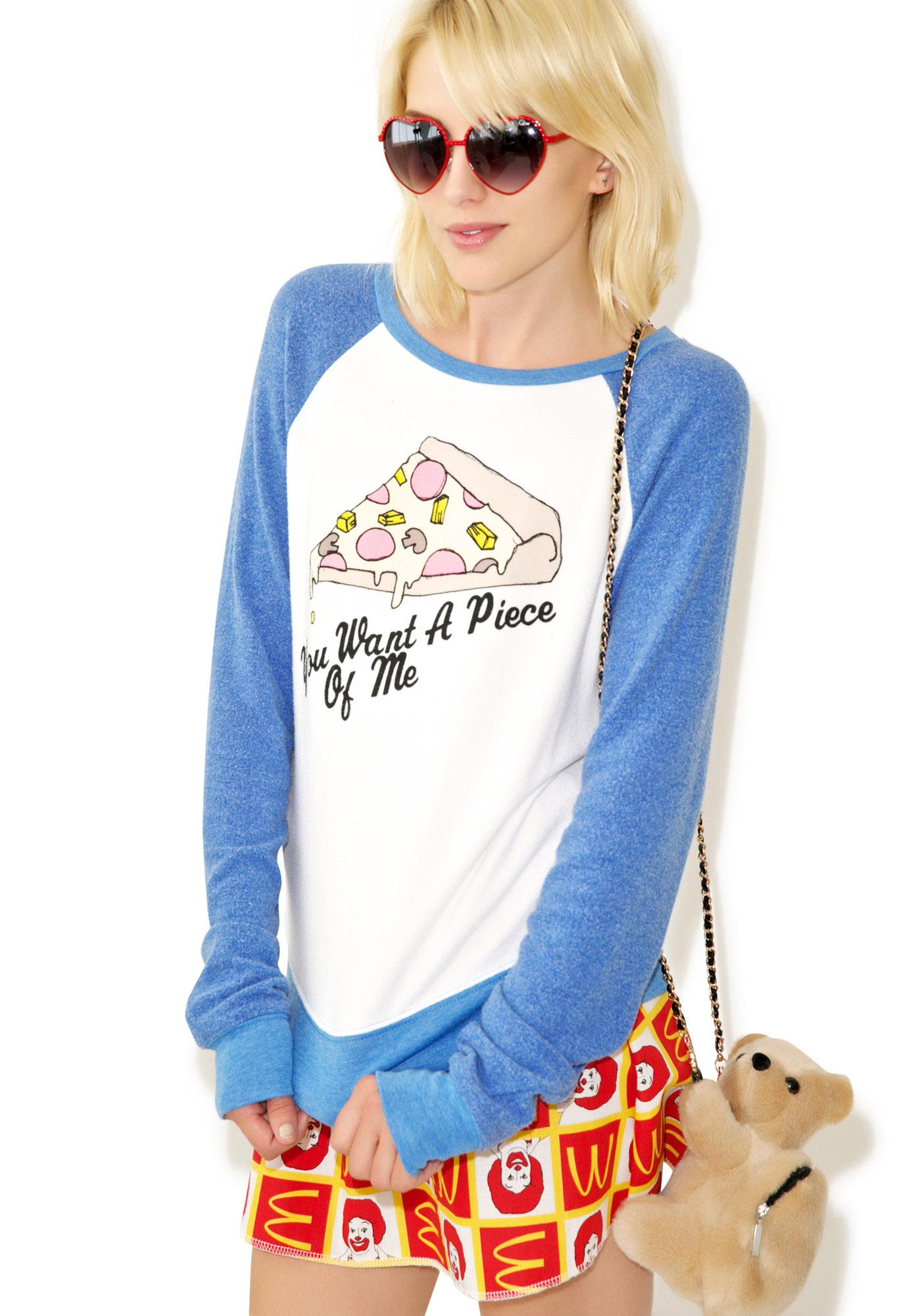 Wildfox Couture You Want A Piece Baggy Beach Raglan