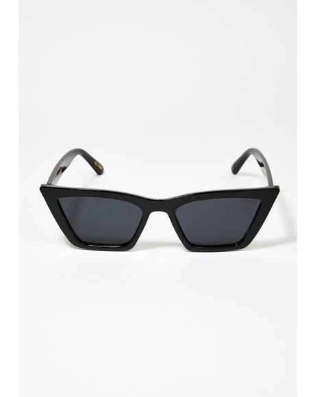 Rosey Cat Eye Sunglasses