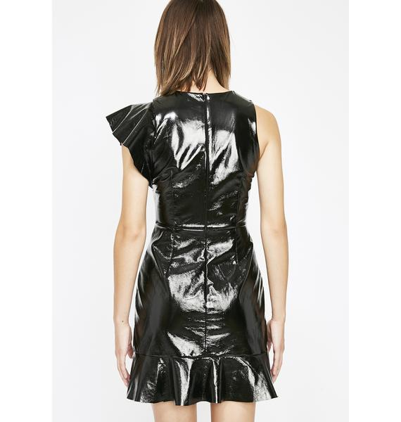 Dose Of Poison Vinyl Dress