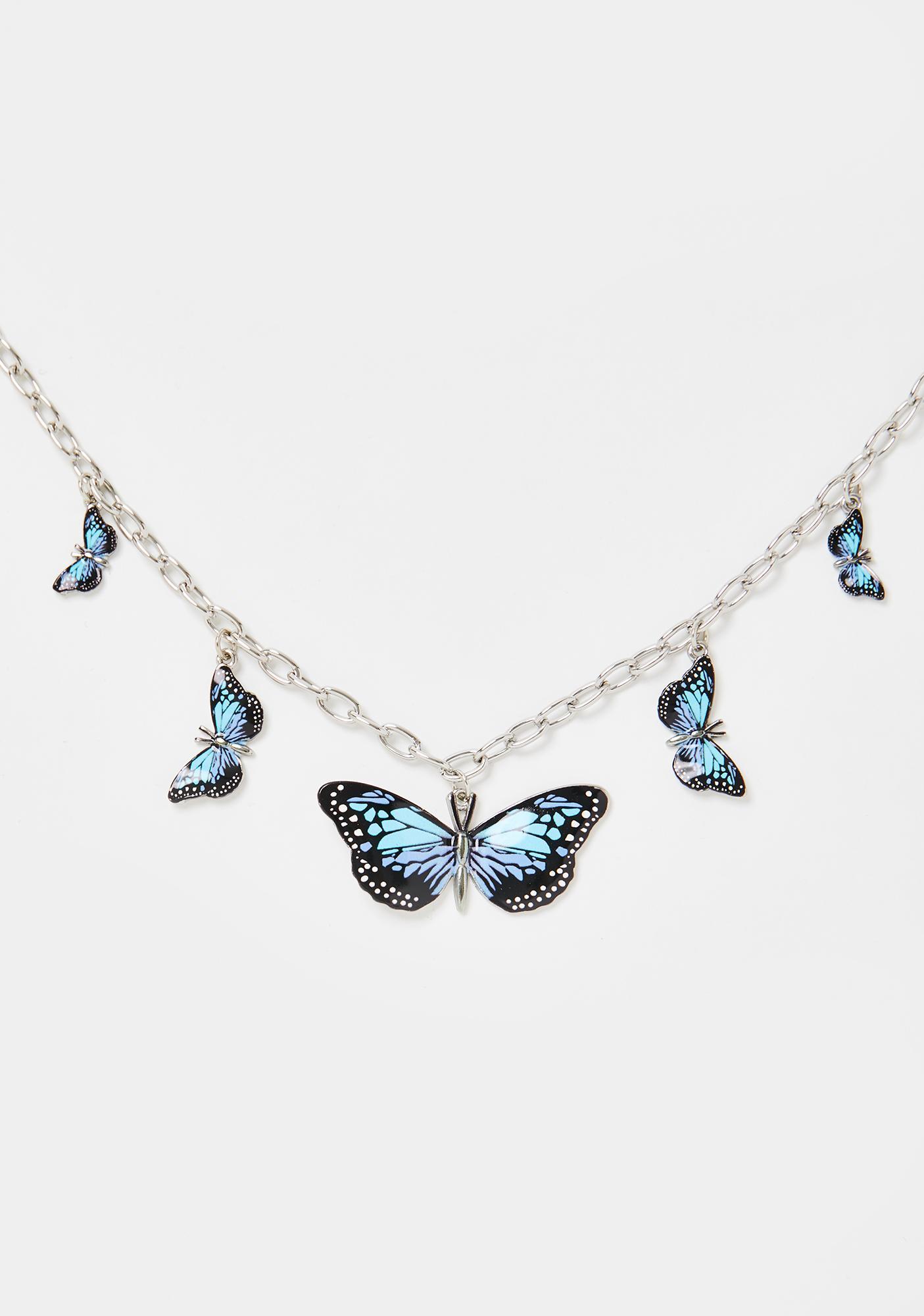 Ur So Meta Butterfly Choker