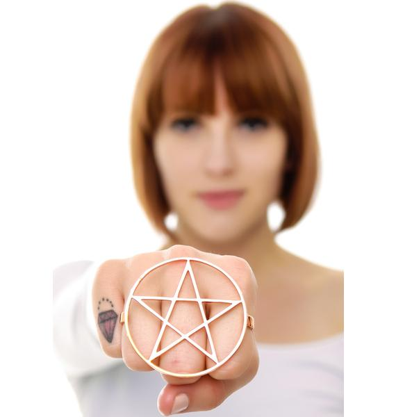 Magick Star Pentagram Ring
