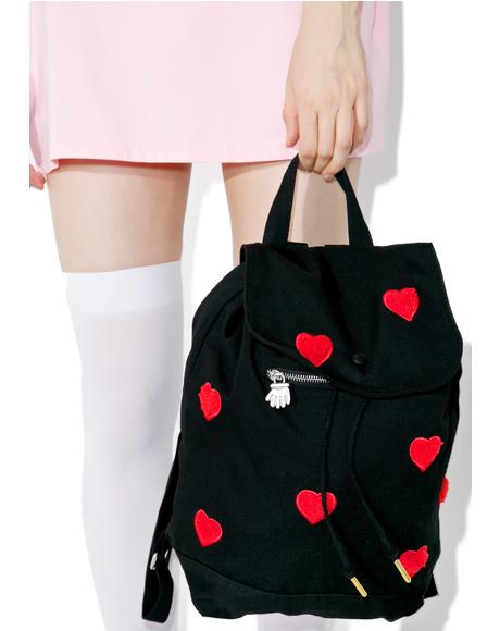Fur Heart Duffel