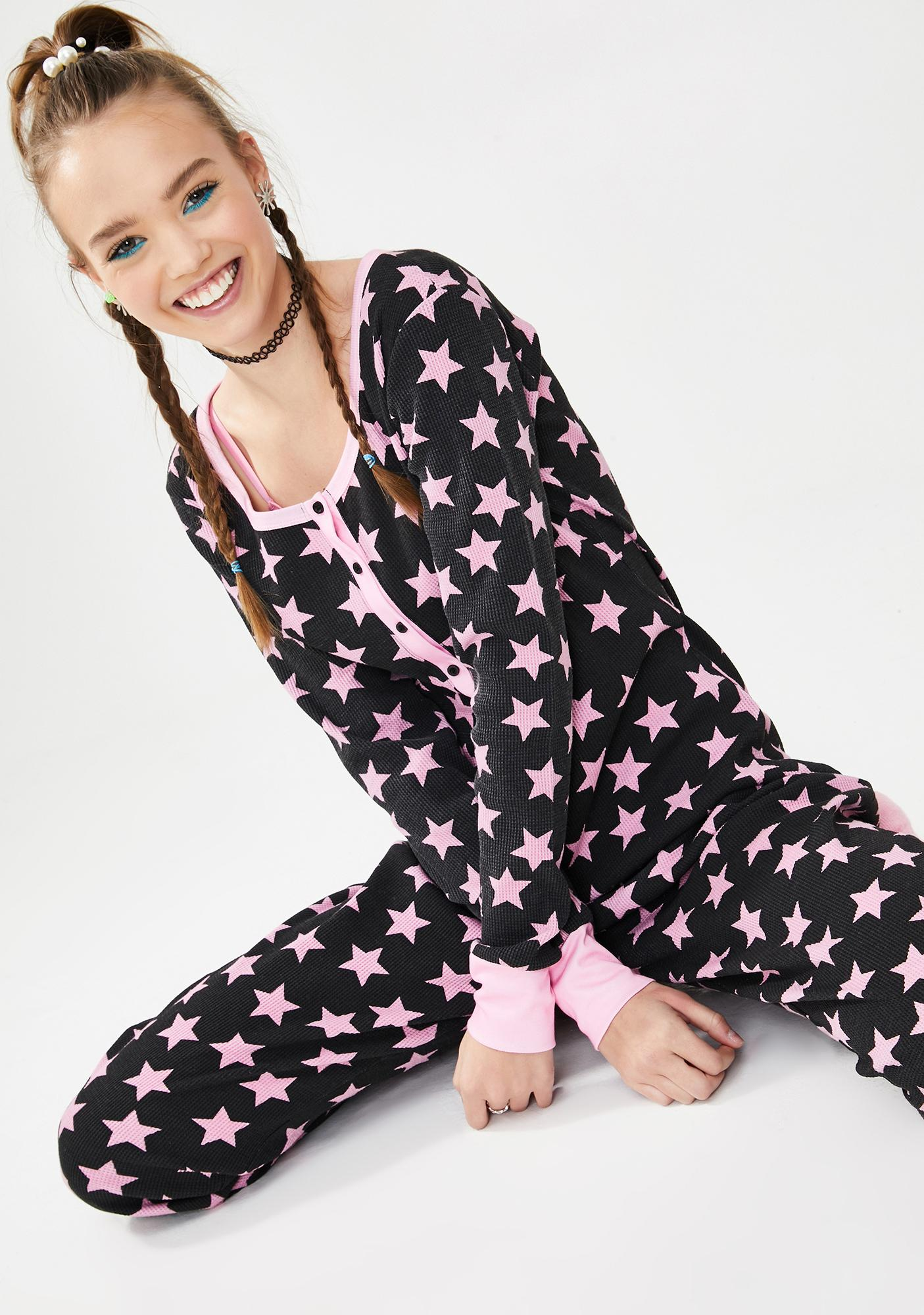 dELiA*s by Dolls Kill Moment Like This Thermal Onesie
