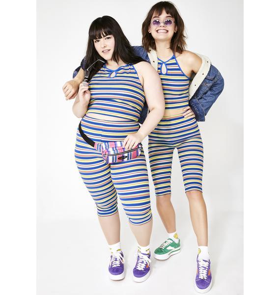 dELiA*s by Dolls Kill Best One Hit Wonder Biker Shorts