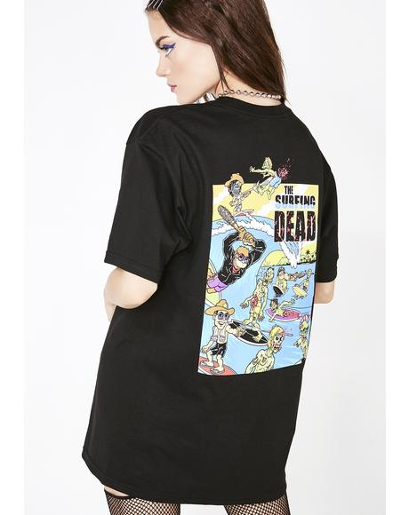 The Surfing Dead Tee