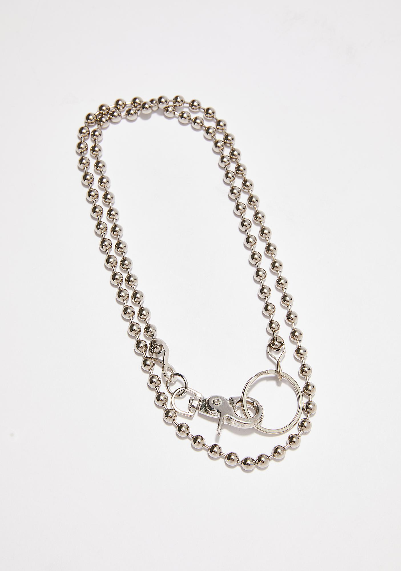 Too Kool Ball N' Chain Necklace