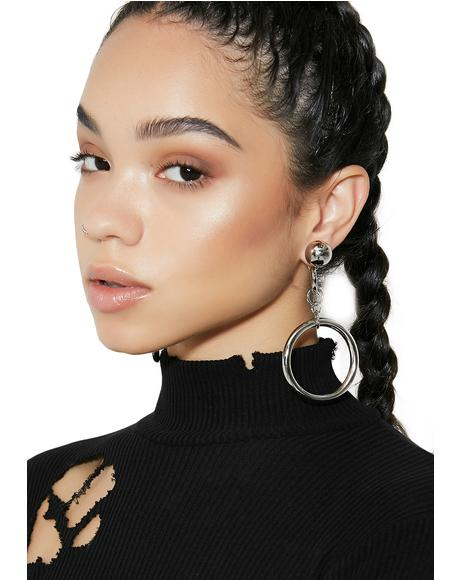 Upgrade U Double Hoop Earrings