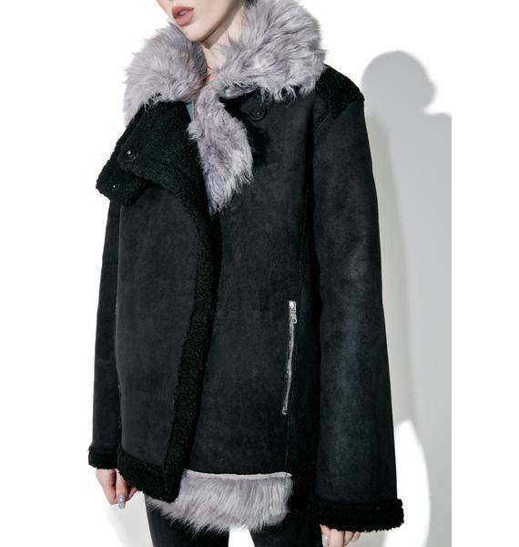 Twice As Nice Faux Fur Jacket