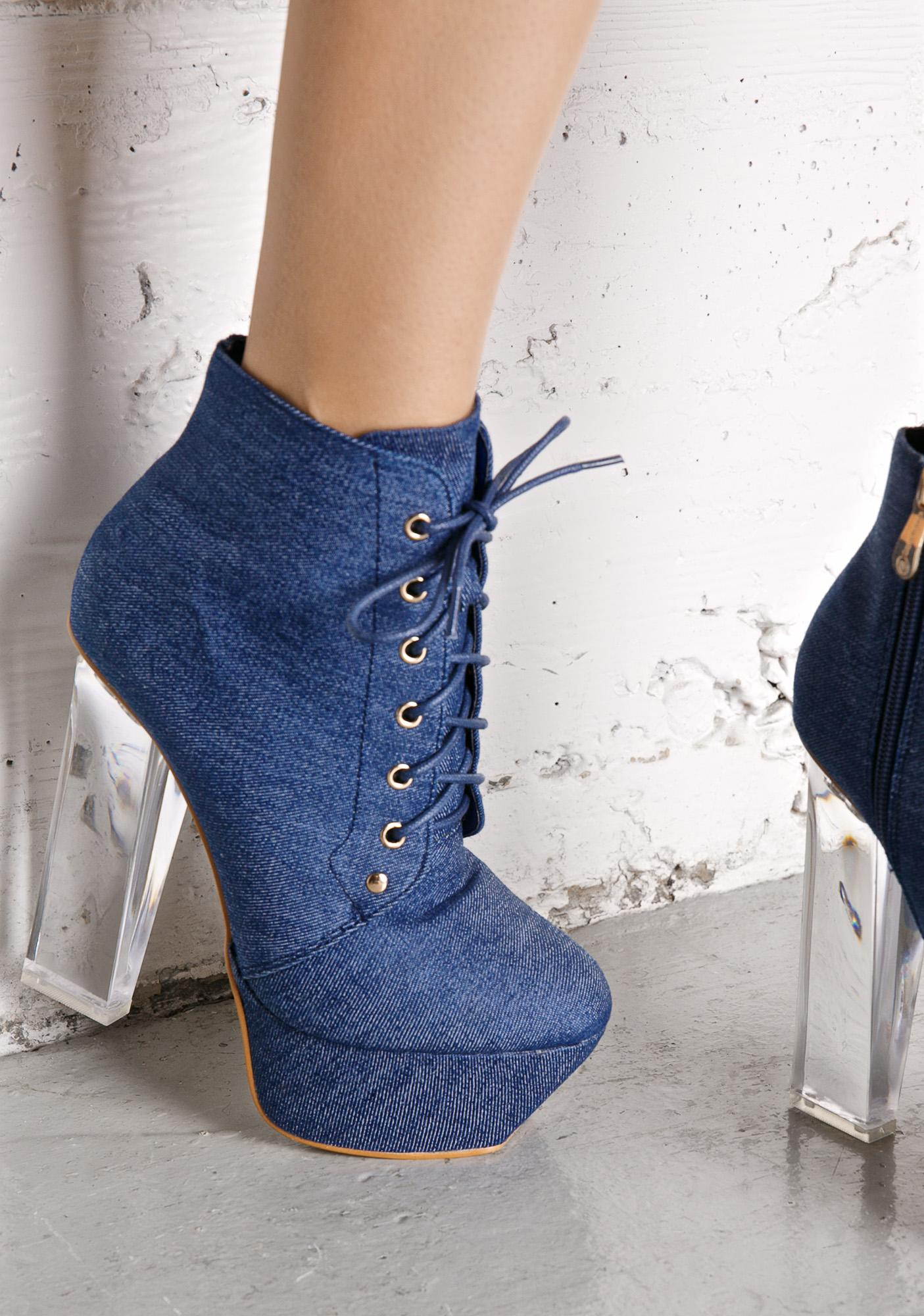 Not Sorry Platform Heels