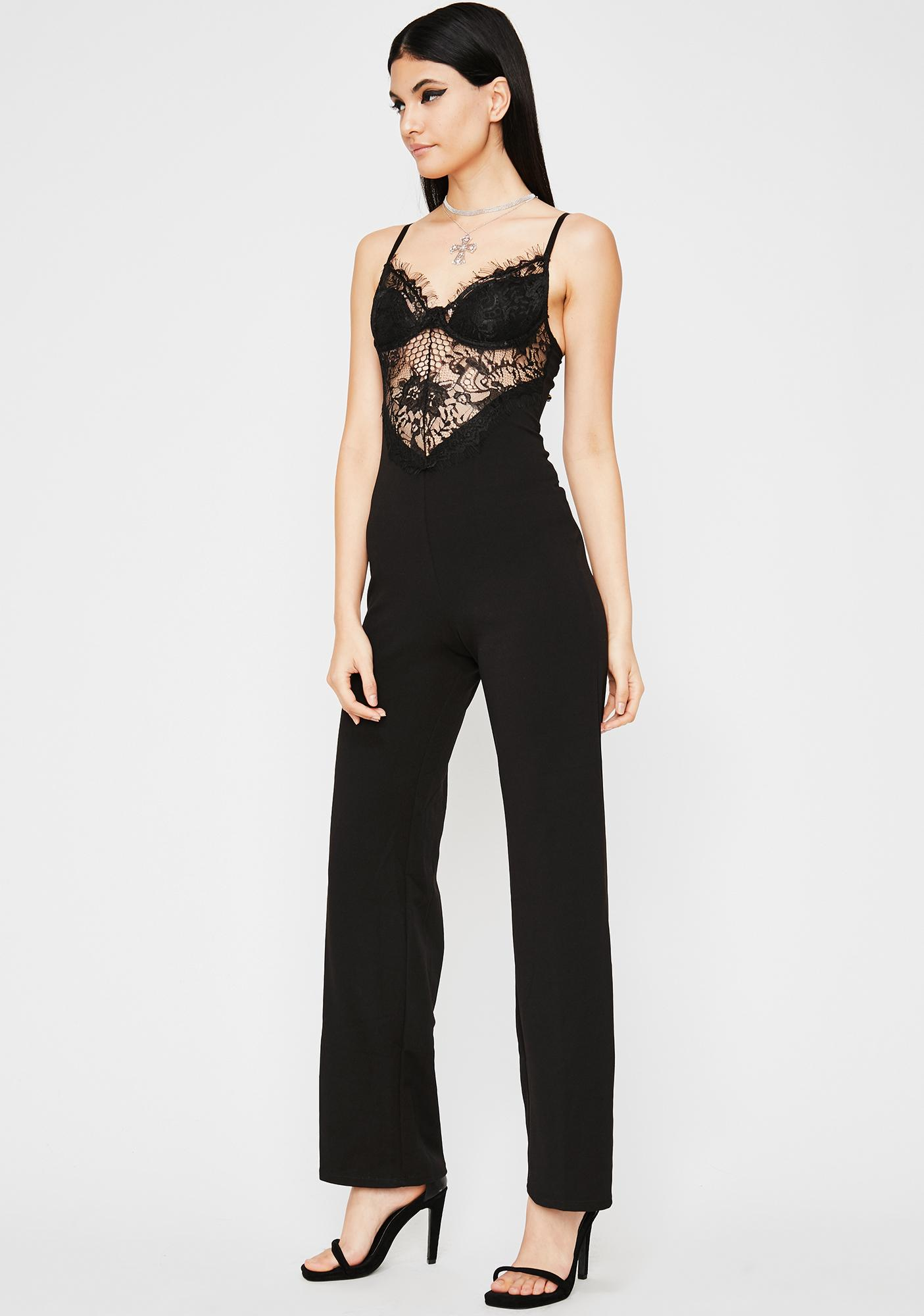 Diamond Delight Lace Jumpsuit