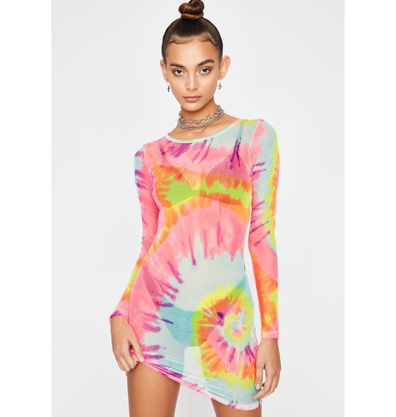 Can't Tie Me Down Mini Dress