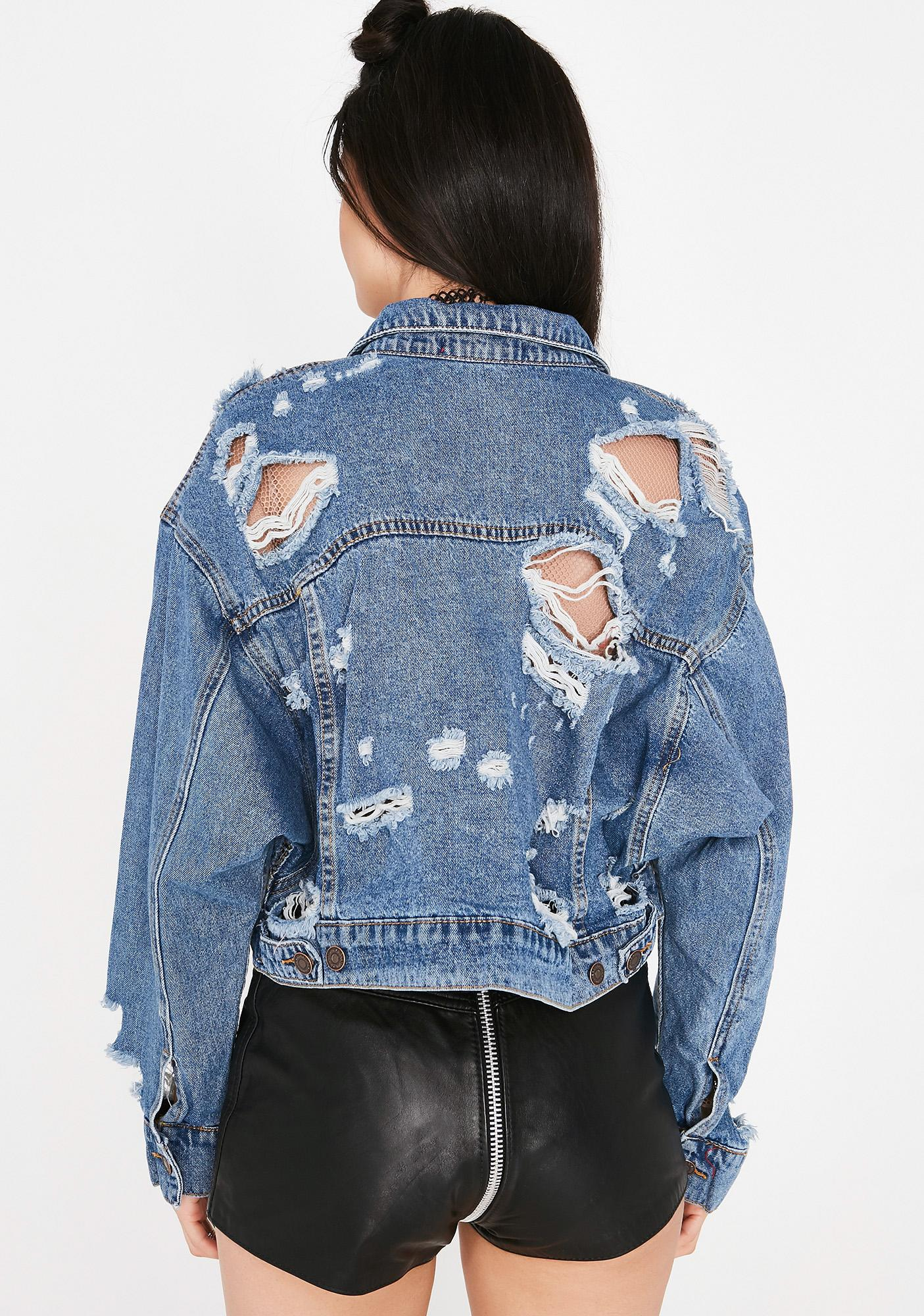 Heartless Human Denim Jacket