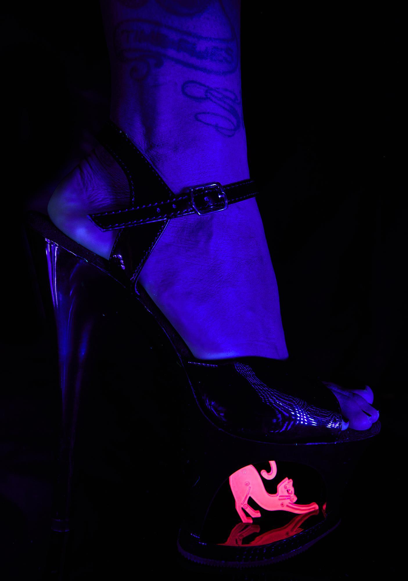 Pleaser Ms Kitty Platform Heels