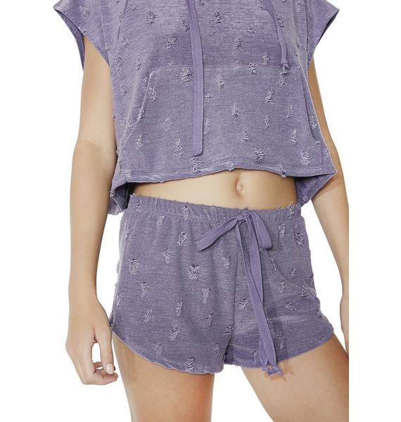 Square Pegs Distressed Shorts