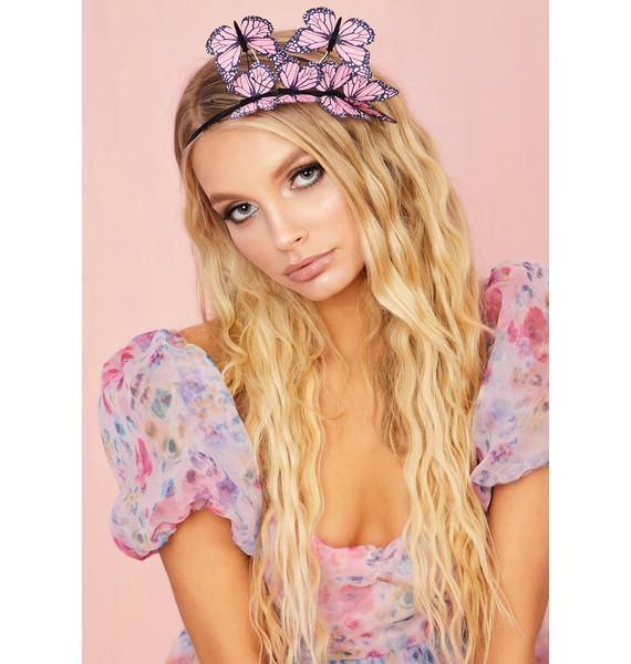 Pixie Fly Too High Butterfly Headband