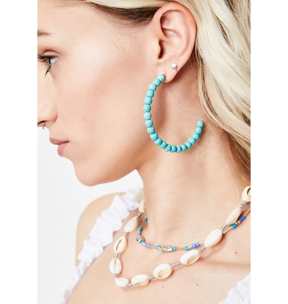 Santa Fe Slay Hoop Earrings