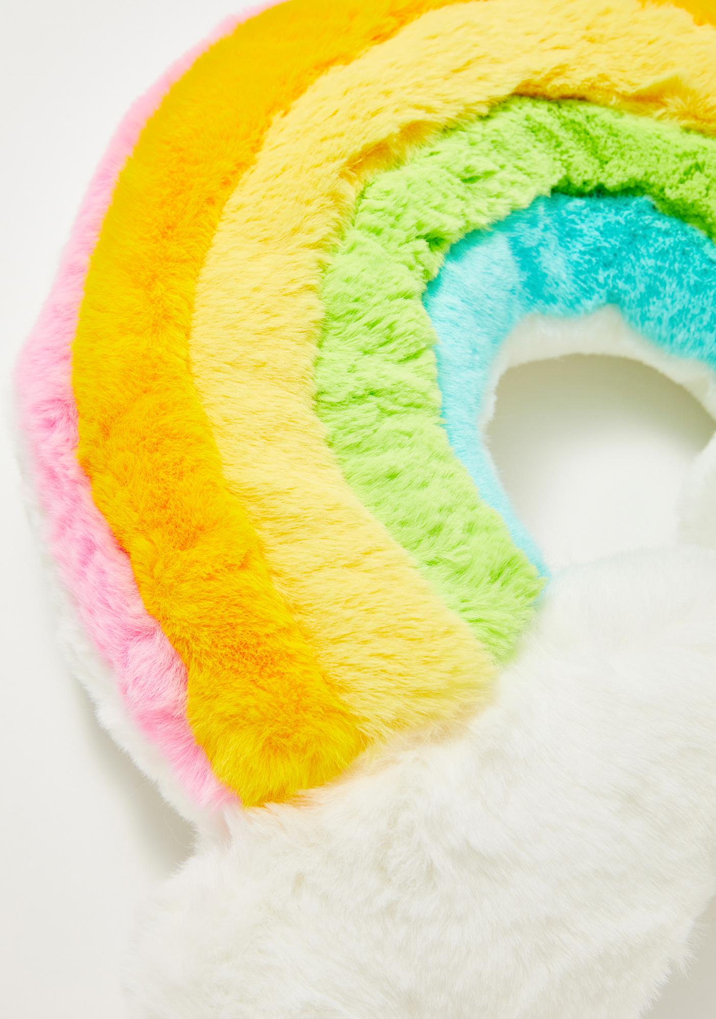 Dreamy Delight Rainbow Pillow
