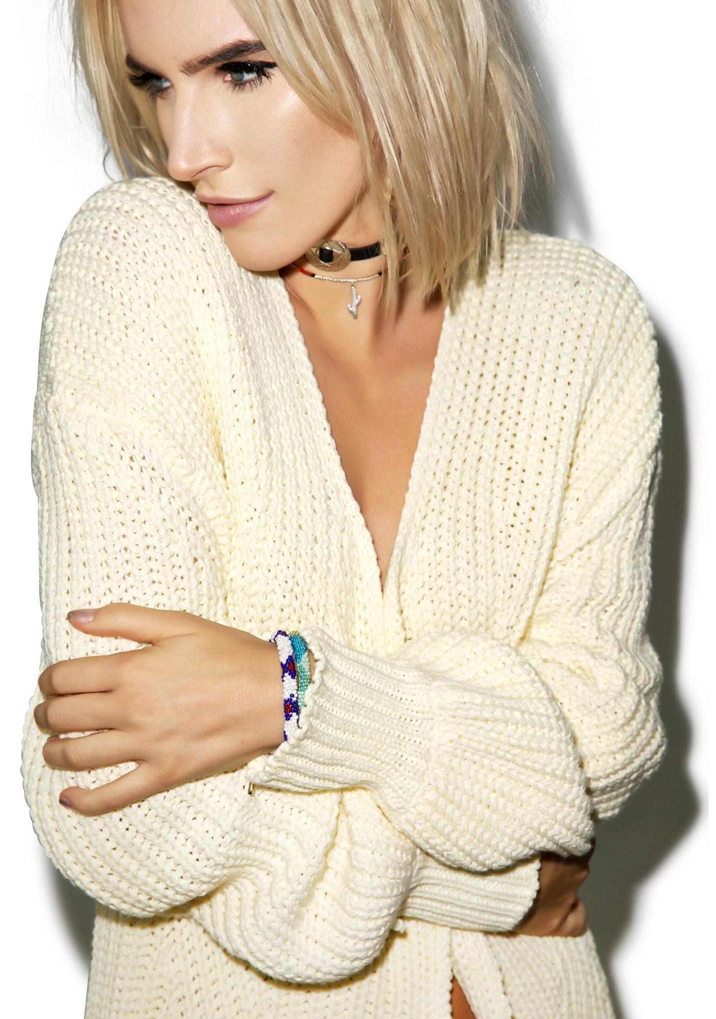 Somedays Lovin Strabo Chunky Knit Cardi