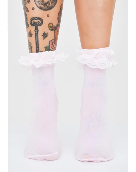 Pixie Saint Sass Ruffle Socks