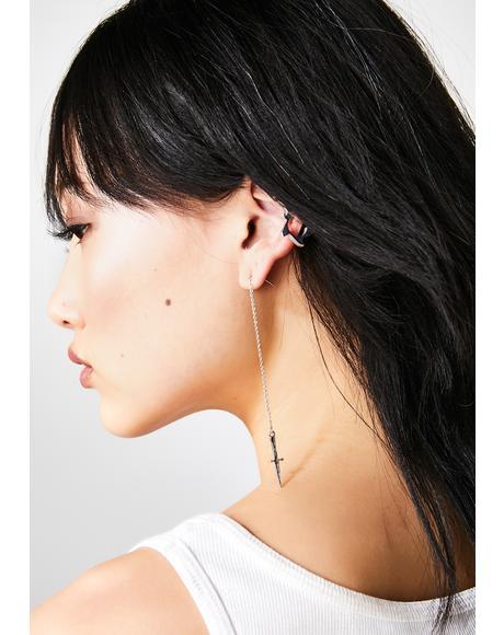 Threaded Daggers Earrings
