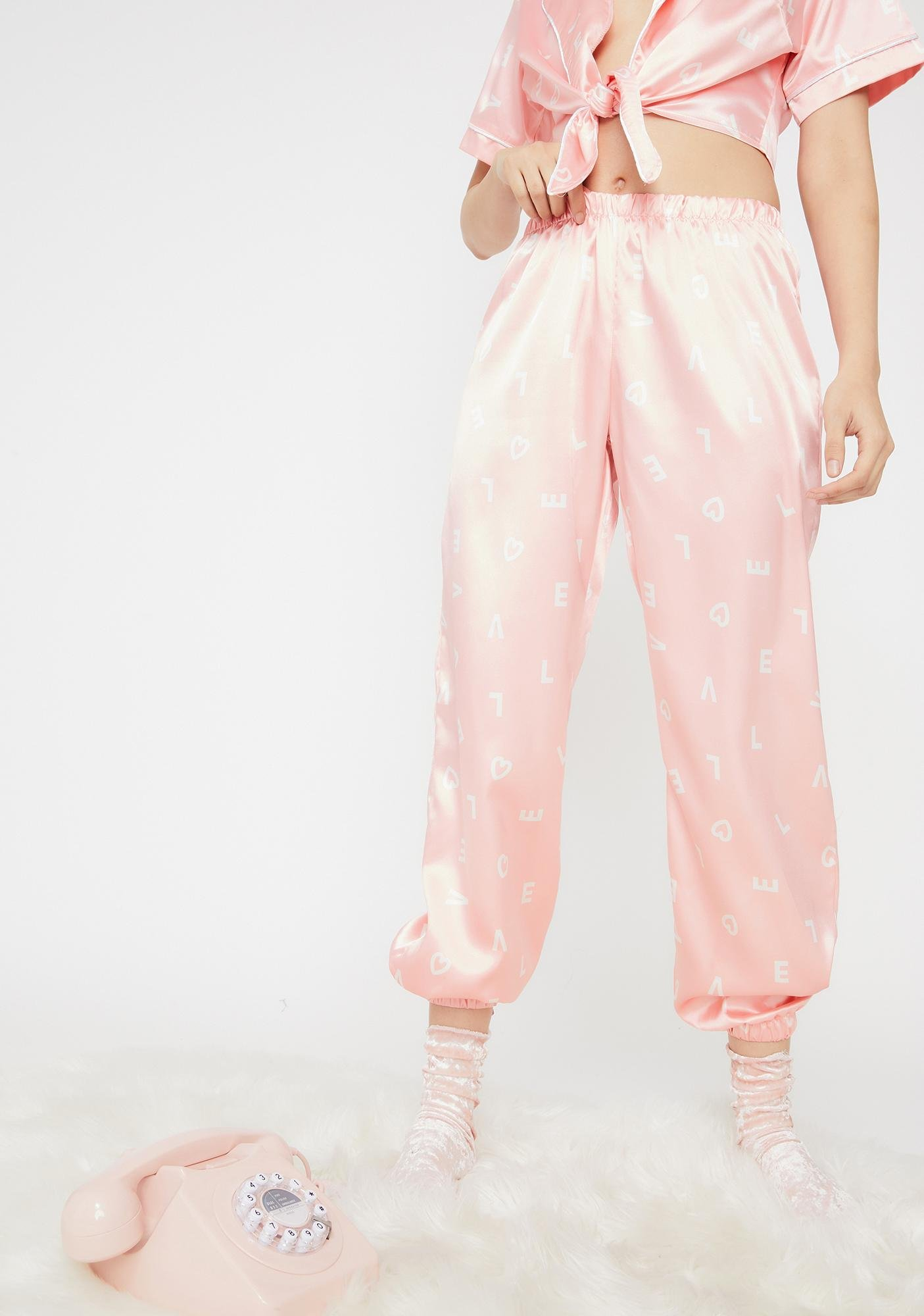 Roma Love Actually Pajama Set