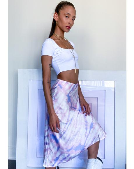 Constant Daydreams Midi Skirt