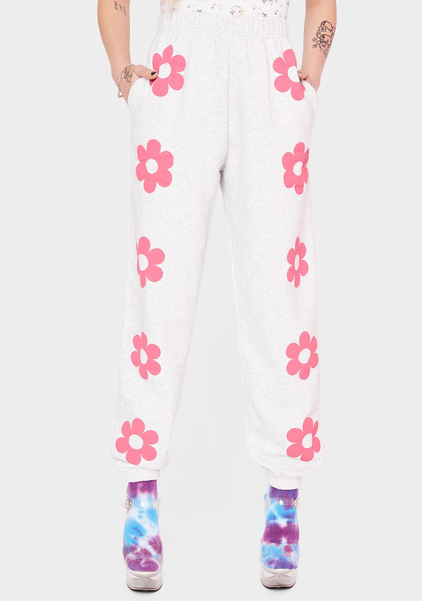 NEW GIRL ORDER Flower Power Sweatpants