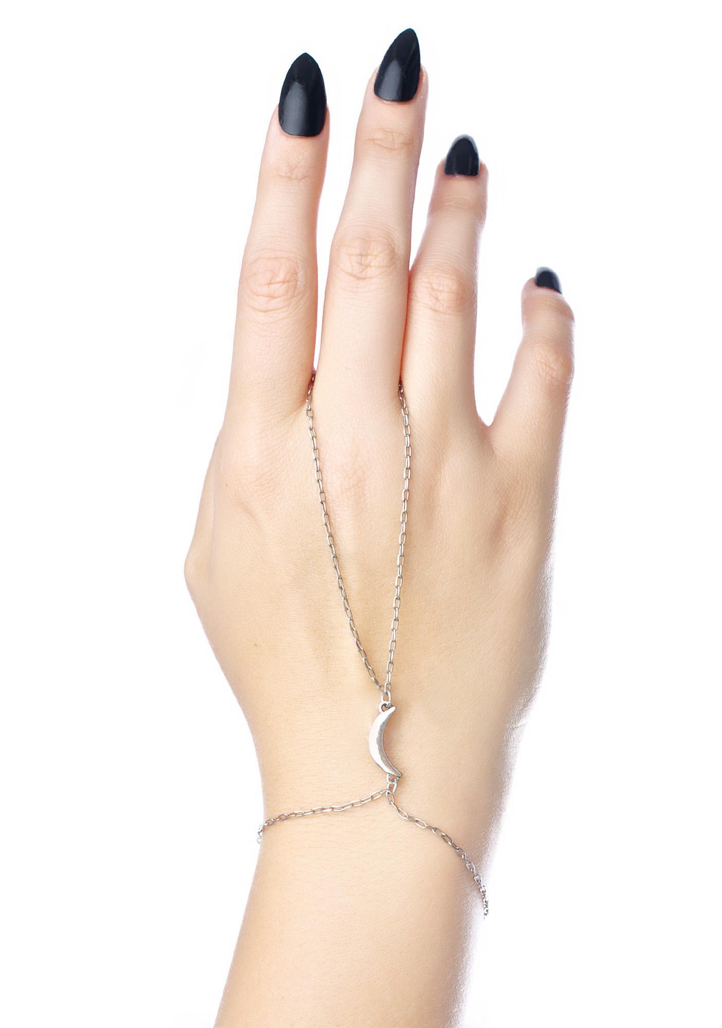 Moon Rising Hand Chain
