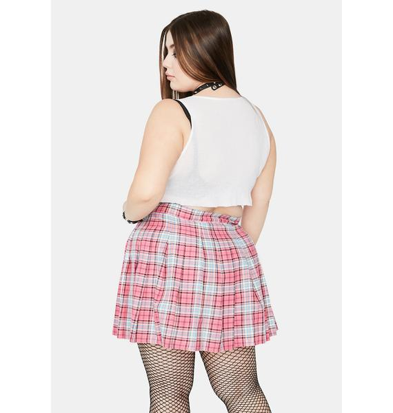 Candy So Miss Popular Pleated Skirt