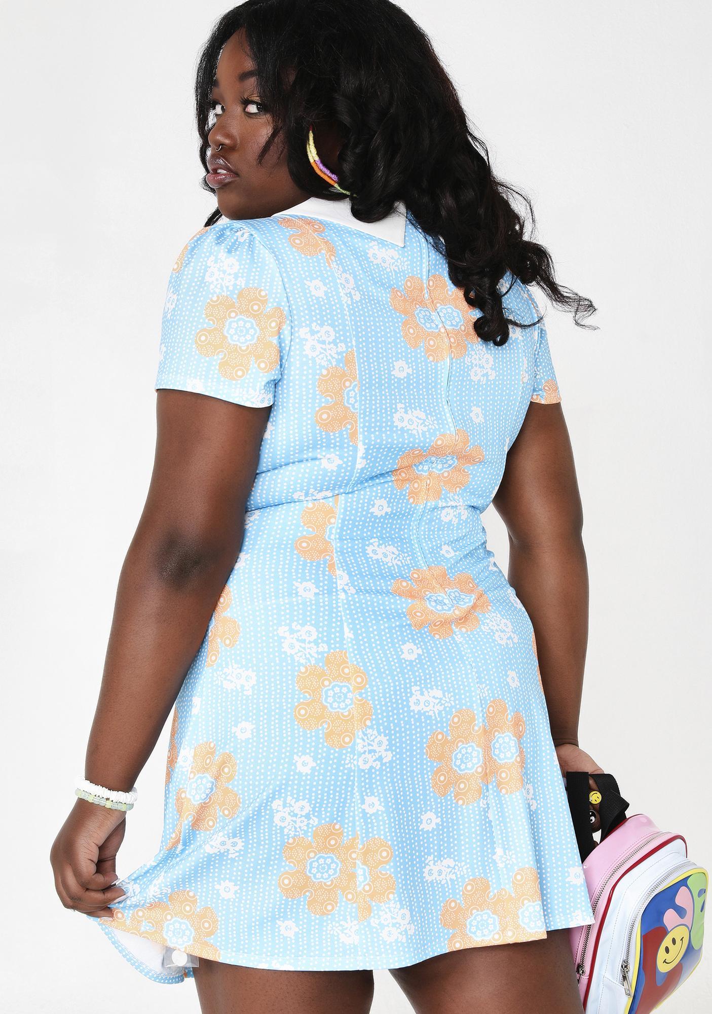 Current Mood On Harmony Lane Floral Dress