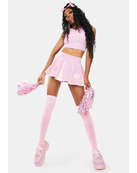 Team Spirits Pastel Goth Cheerleader Costume