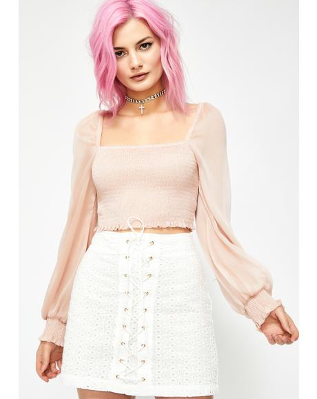 Raging Romance Crop Top
