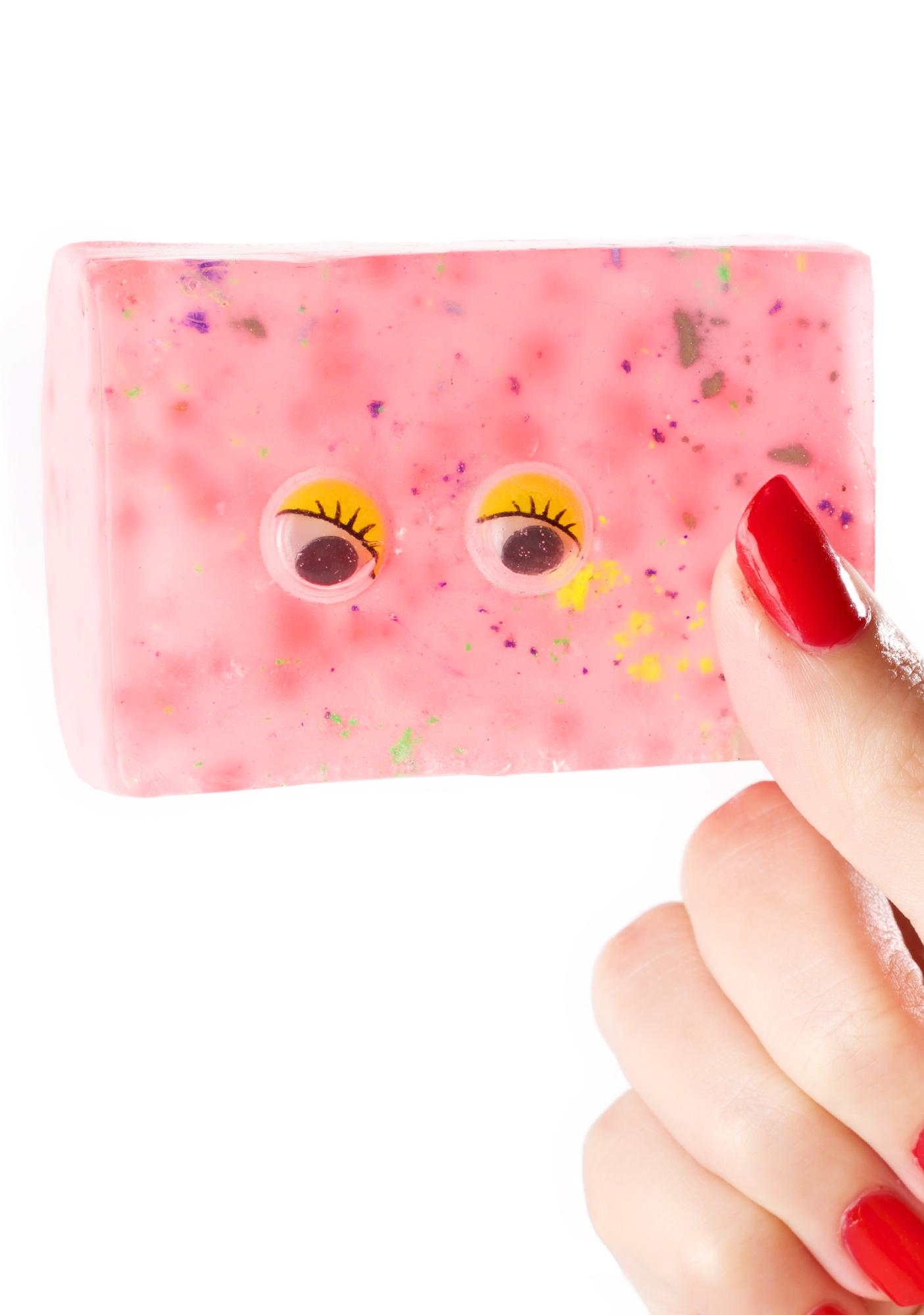 Dirty Grl Googly Eyed Soap