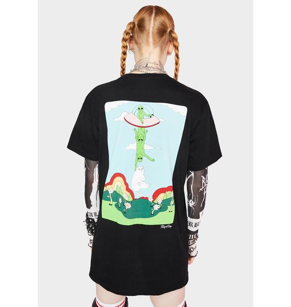 RIPNDIP Abduction Pocket Graphic Tee