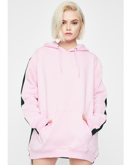 Half And Half Oversized Hoodie