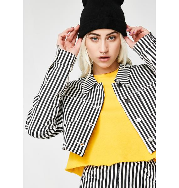 Bottom Line Cropped Jacket