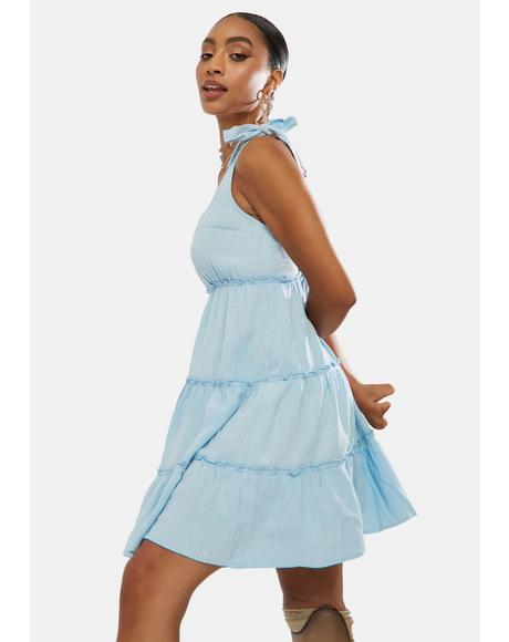 Hanging On To Hope Mini Dress
