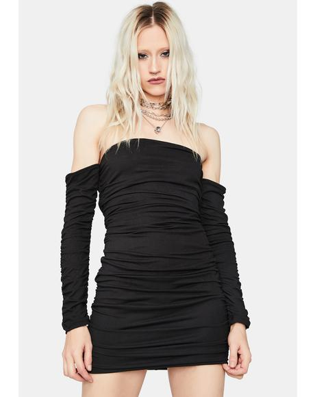 Stick to the Drill Bodycon Dress
