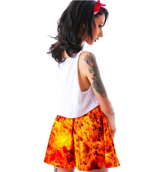 Zara Terez Burning Man Skater Skirt