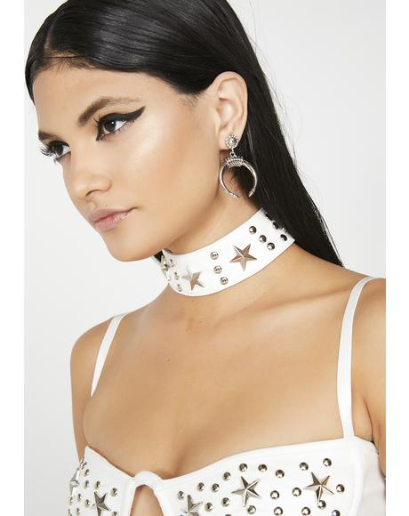 Good Girl Studded Choker