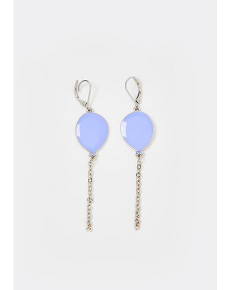 Lift Me Up Chain Earrings
