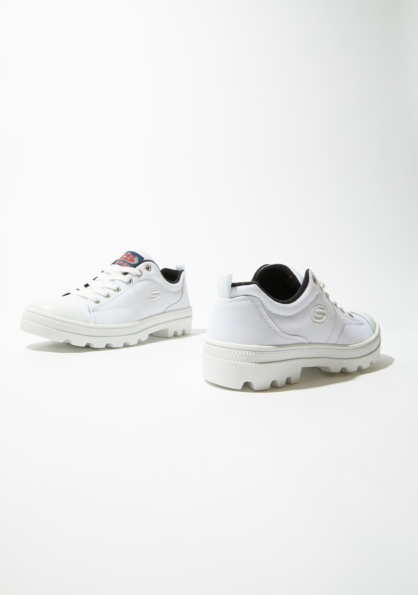 Skechers White Roadies True Roots Sneakers