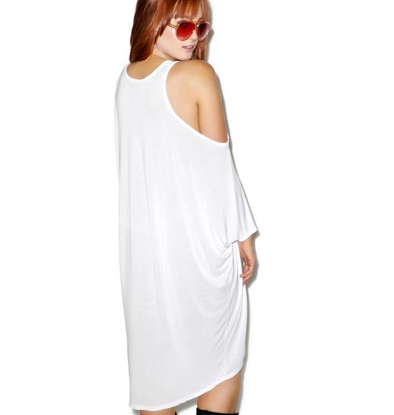 Lauren Moshi Gayle Open Shoulder Dress