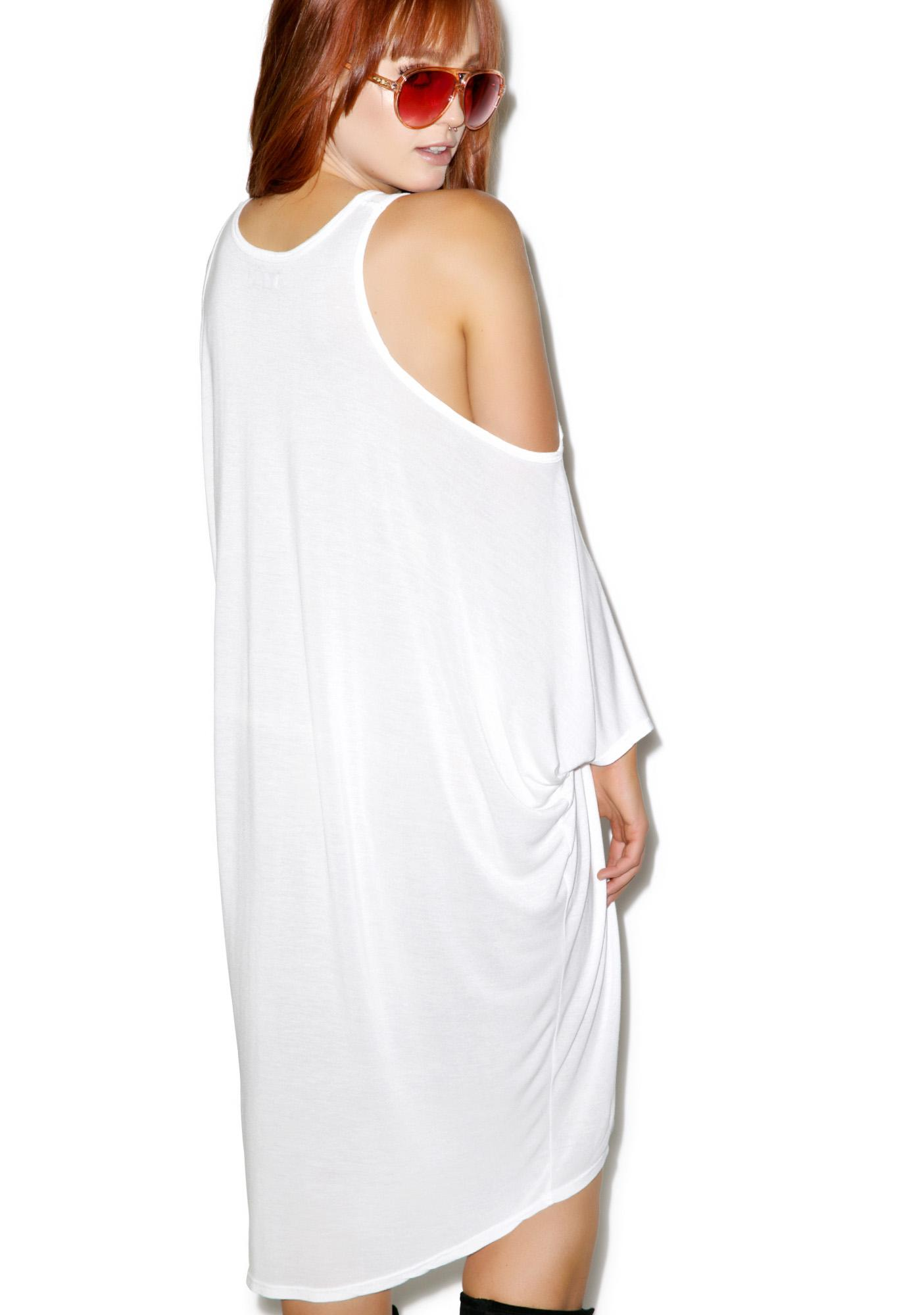 Lauren Moshi Gayle Open Shoulder Dress