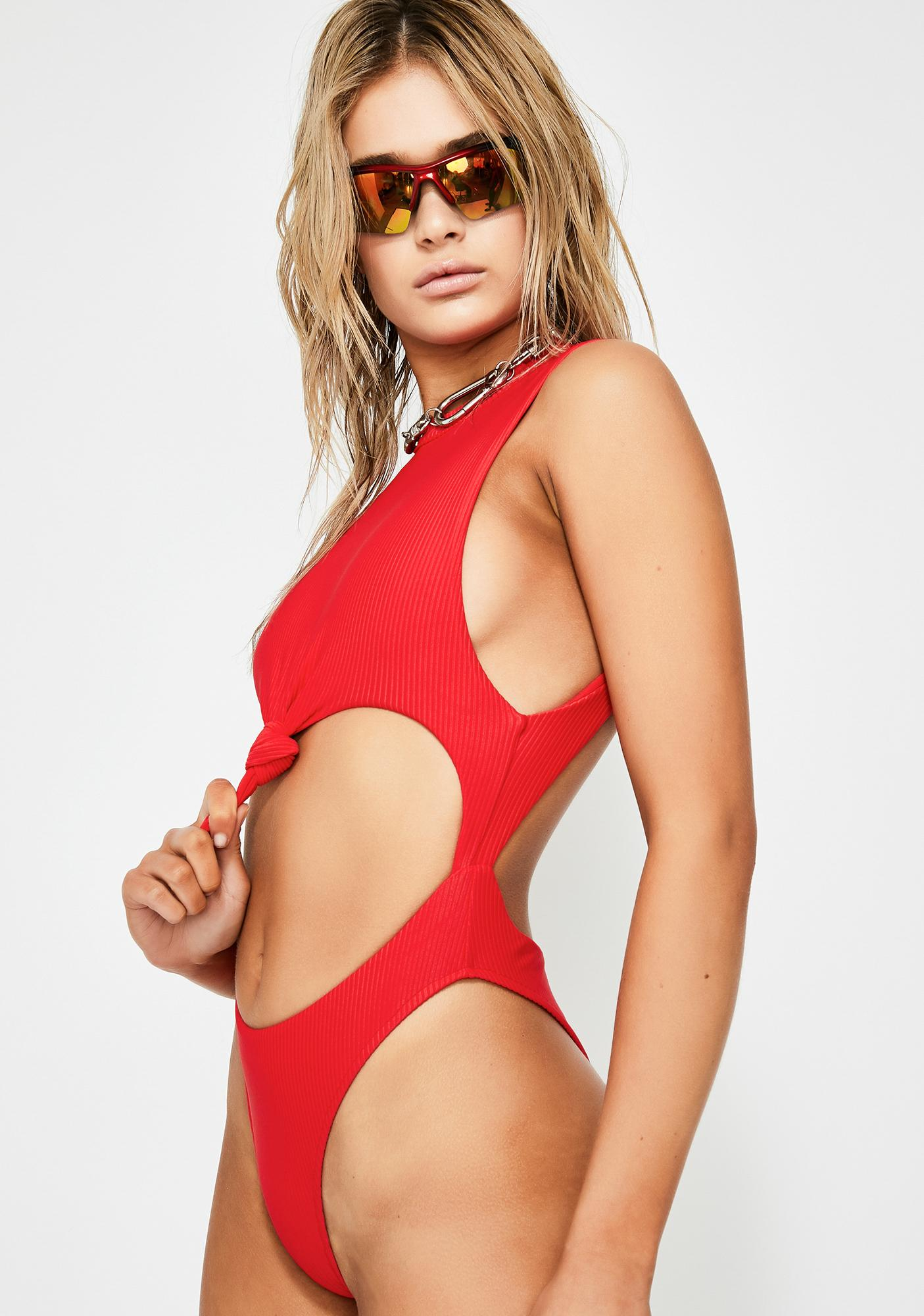 Frankies Bikinis Blake One Piece Swimsuit