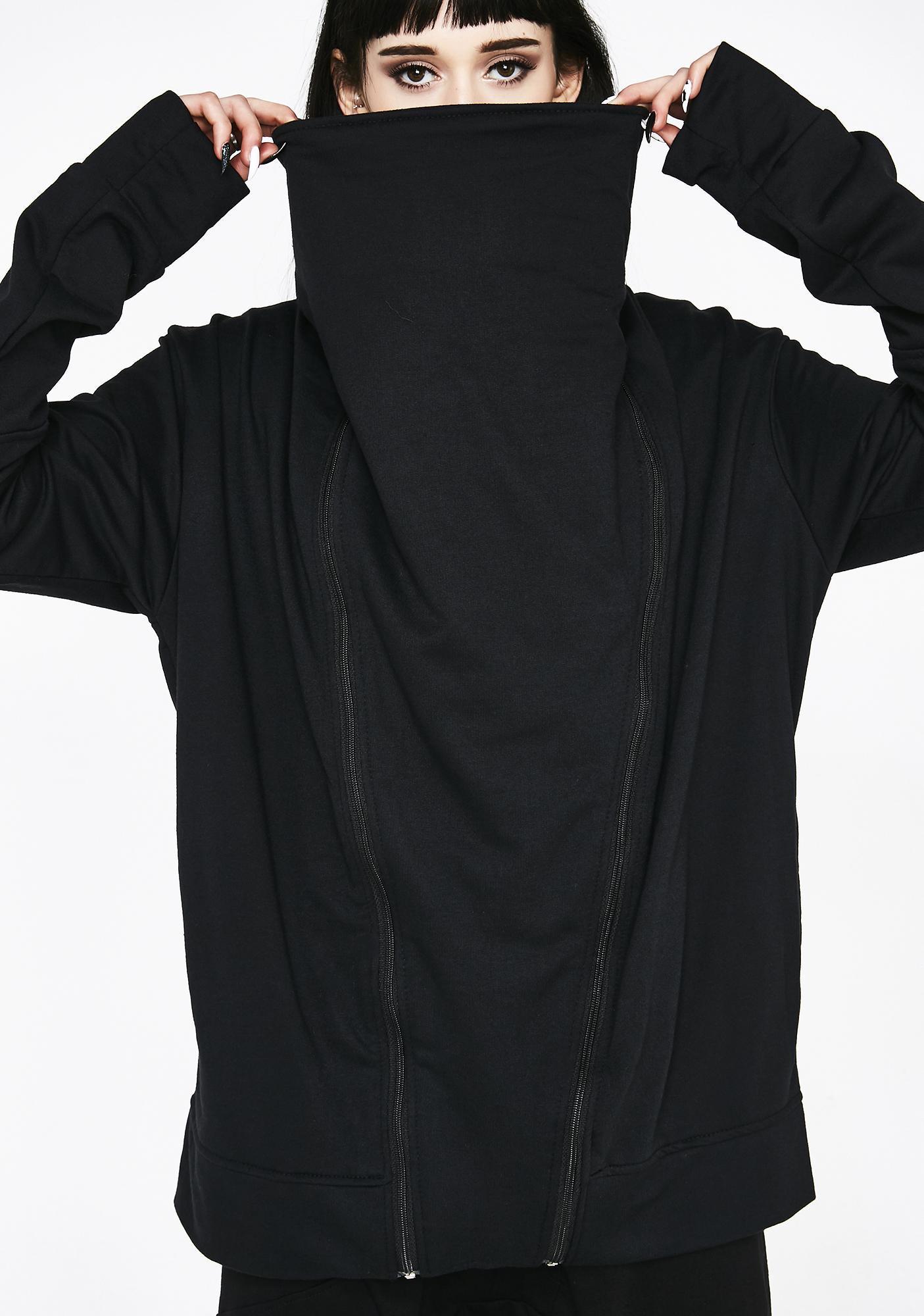 MNML Cyber Genesis Zip Up Sweater