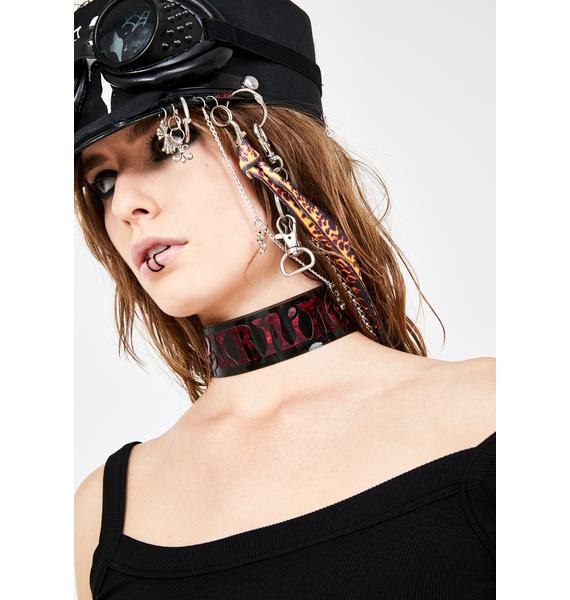 Burning Desire PVC Choker