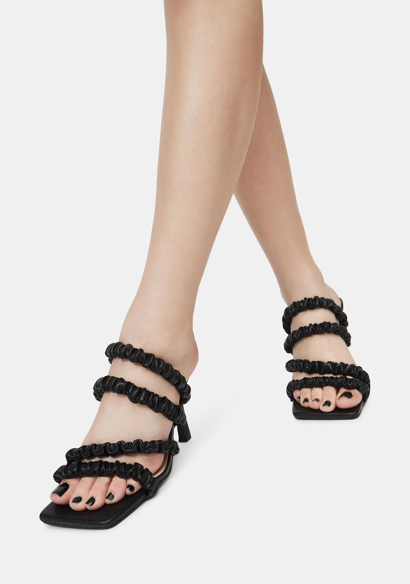 Party For One Strappy Heels