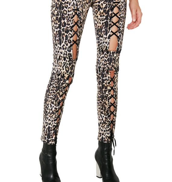 Hardware LDN Ray Ray Leopard Pants